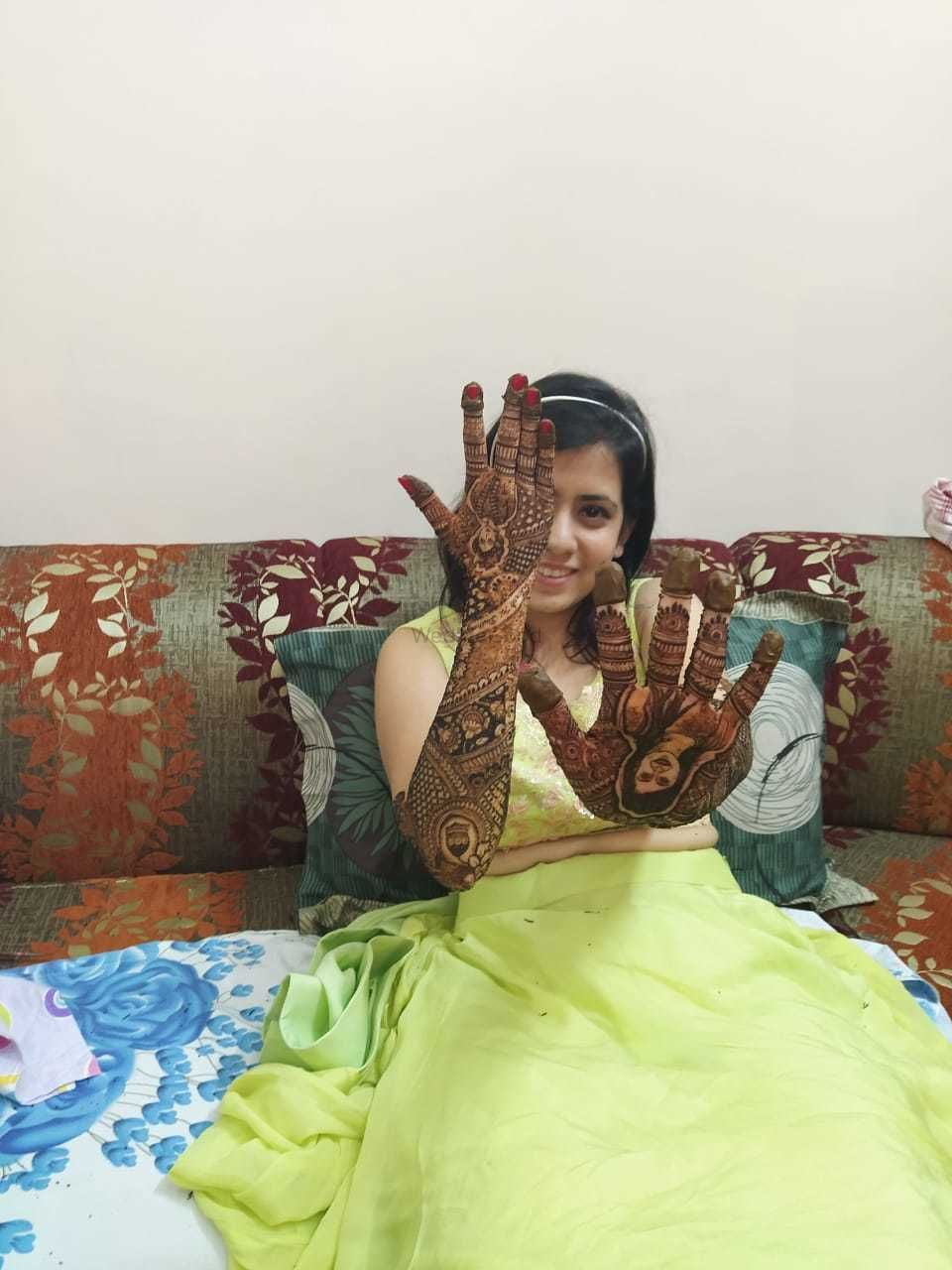 Photo From Bride Mansi Dagda - By Lata Mehandi
