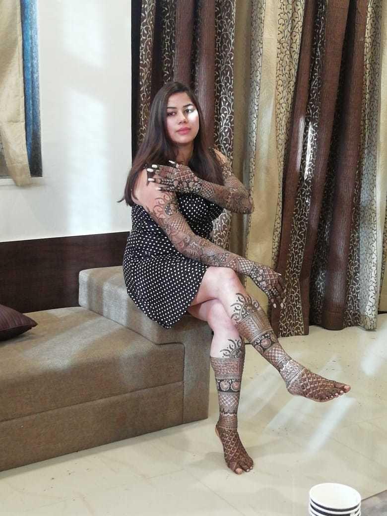 Photo From Bride Haena - By Lata Mehandi