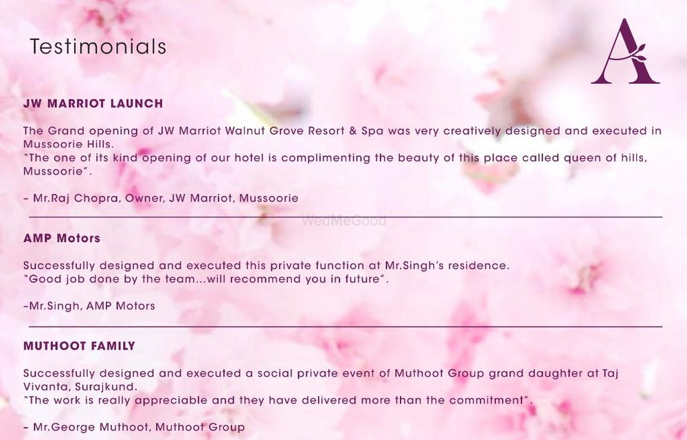 Photo From CLIENT TESTIMONIALS  - By Luxury Weddings by Abhishek