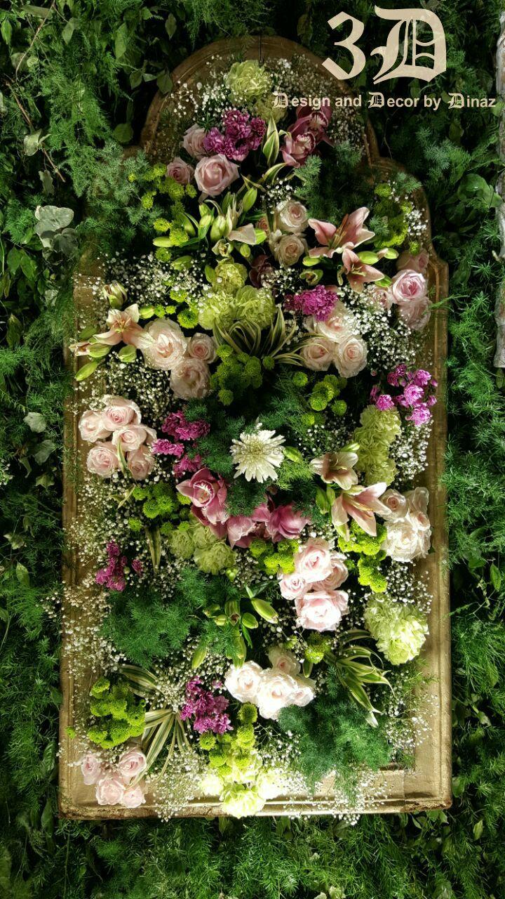Photo of Floral arrangement inside frames