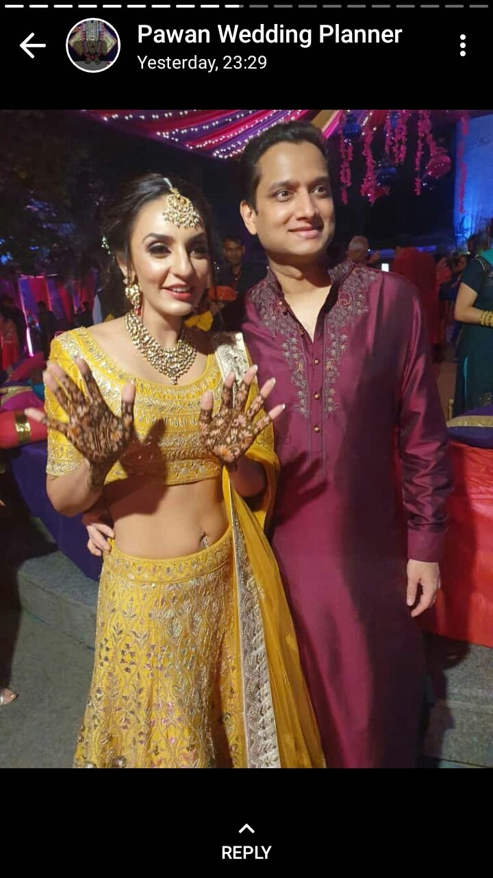 Photo From One of the big beureaucrate daugther sonalini bridal mehendi at le maridian on 23 nov 2019 - By Shalini Mehendi Artist