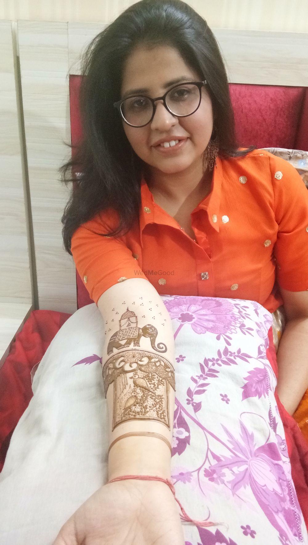 Photo From Mansi bridal mehendi at Adarsh nagar on 12th dec 2019 - By Shalini Mehendi Artist