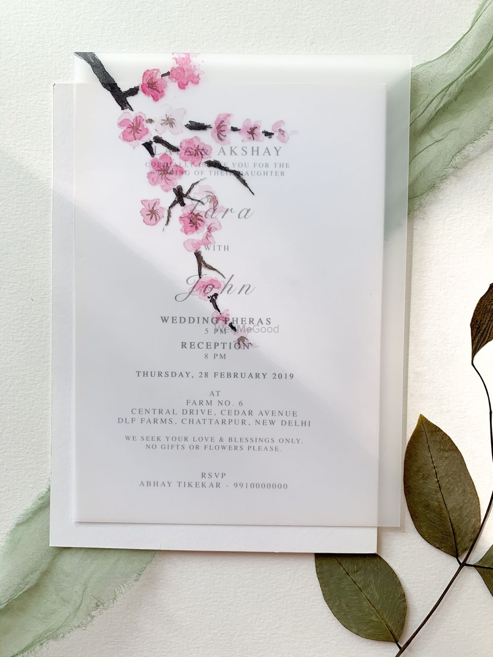 Photo From Floral Invitations  - By Pale Pink Studio