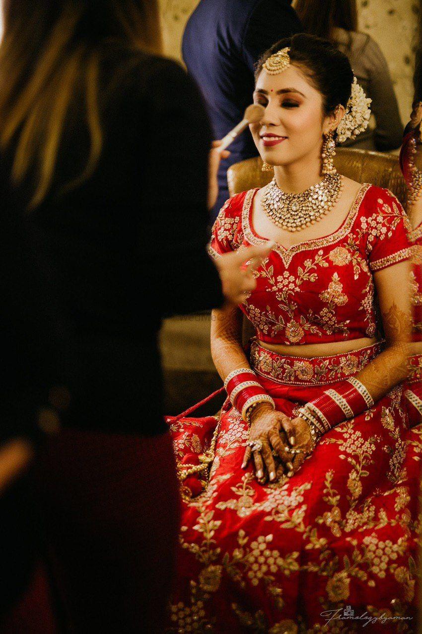 Photo From NRI Brides  - By Roopali Talwar Makeup Artist