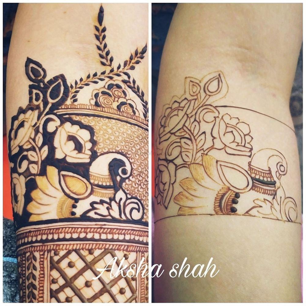 Photo From Bride Niyati  - By Aksha Shah Mehendi Designer