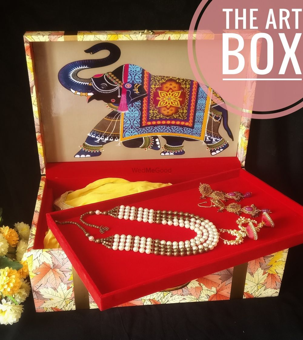 Photo From Bridal Lehenga Trunks  - By The Art Box