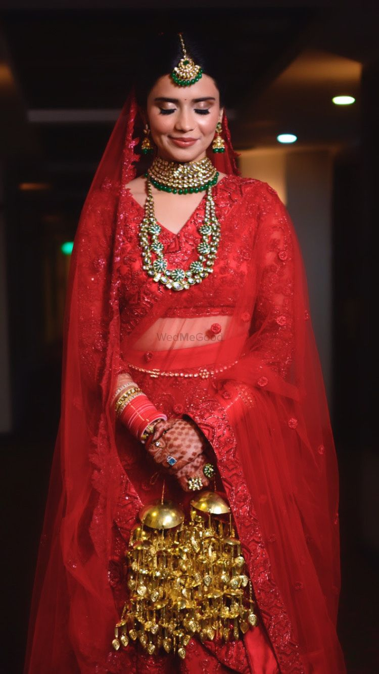 Photo From Bridal in Red like a Dream  - By Makeup By Suhani