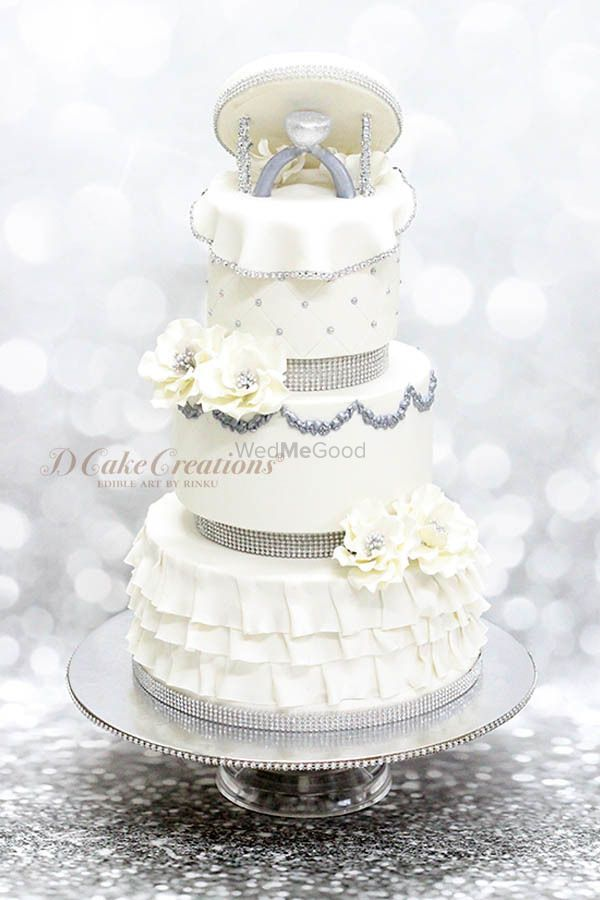 Photo From Engagement Cakes - By D Cake Creations