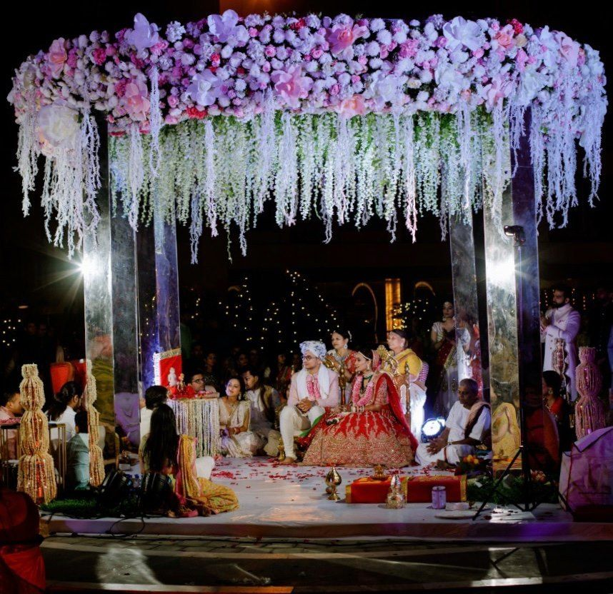 Photo From Vidhi + Aakash - By The Crimson Circle