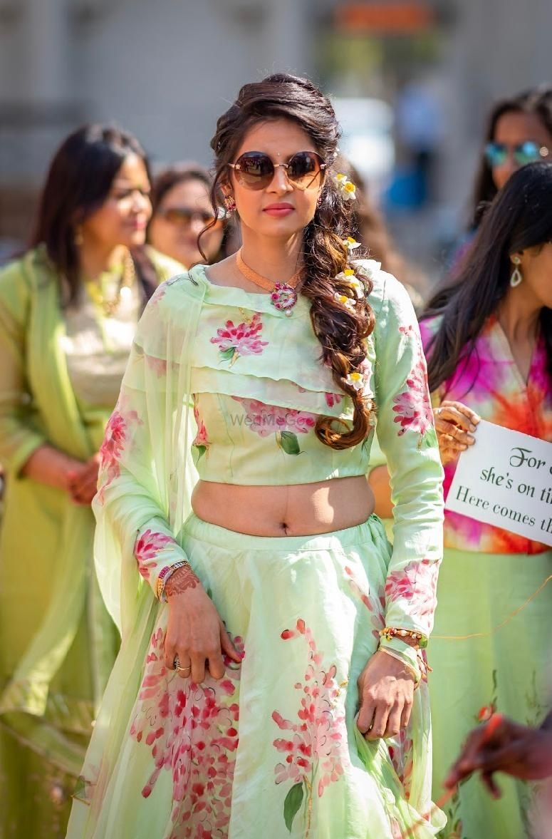 Photo From Sangeet/Engagement/Cocktails or Carnival Bridal Makeover - By Make up by Shriya Pardal