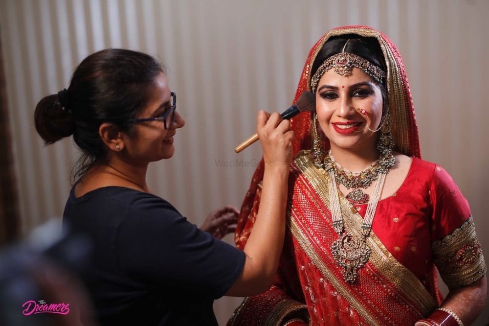 Photo From Sugandha Engagment and Wedding shots - By Bhavneet Makeup Artist