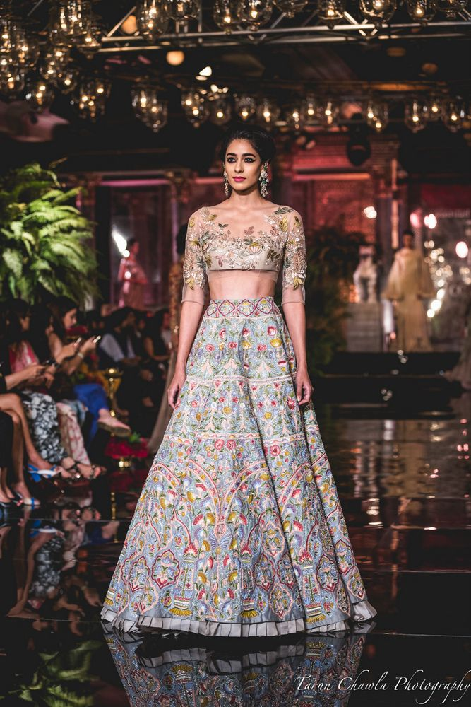 Photo of Light blue lehenga by Manish MAlhotra 2016