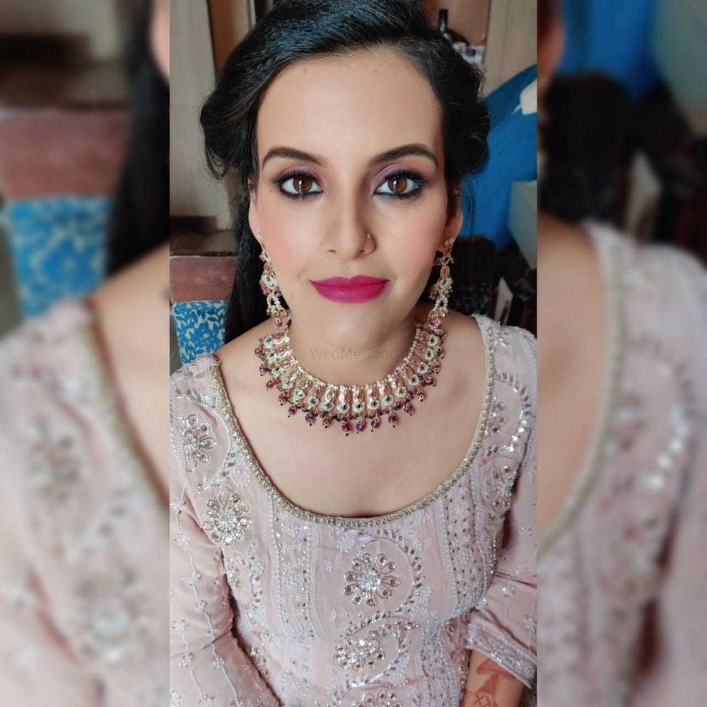 Photo From Ritika's Makeup look - By Wedsta Diamond Package