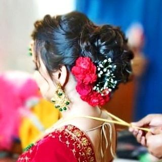 Photo From 2019-20 Traditional Bride - By Bina Punjani Hair Studio