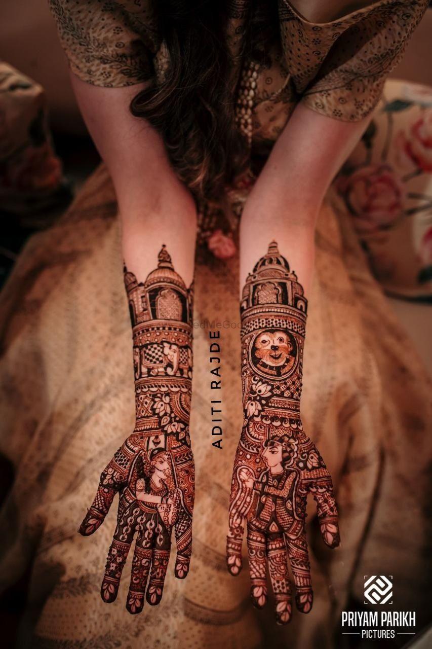 Photo From Tanya pahuja - By Aditis Mehendi Art