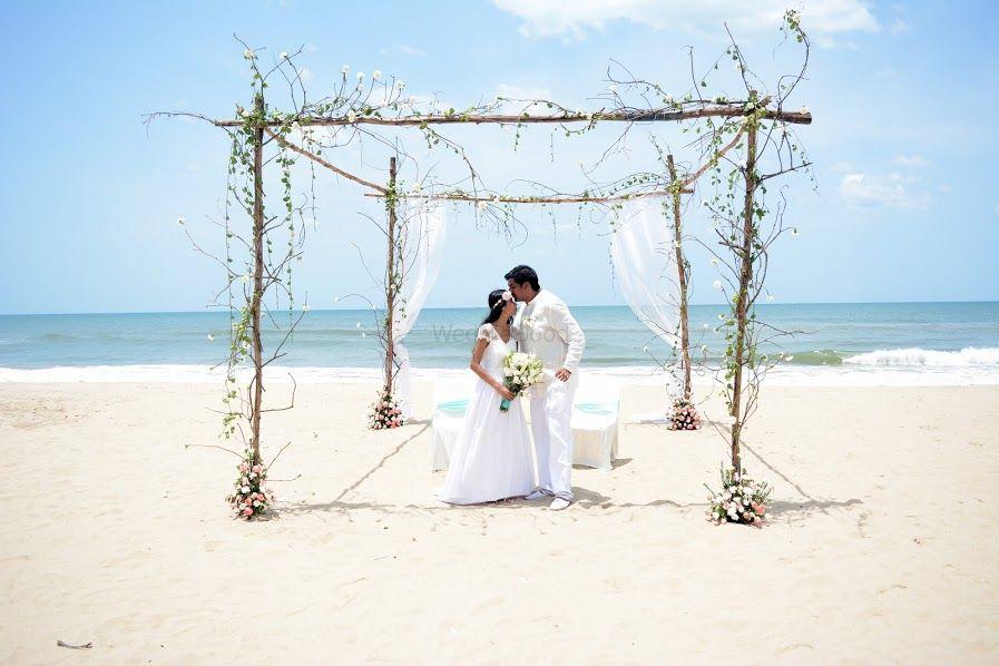 Photo From The Beach Wedding - By Samaritan Events