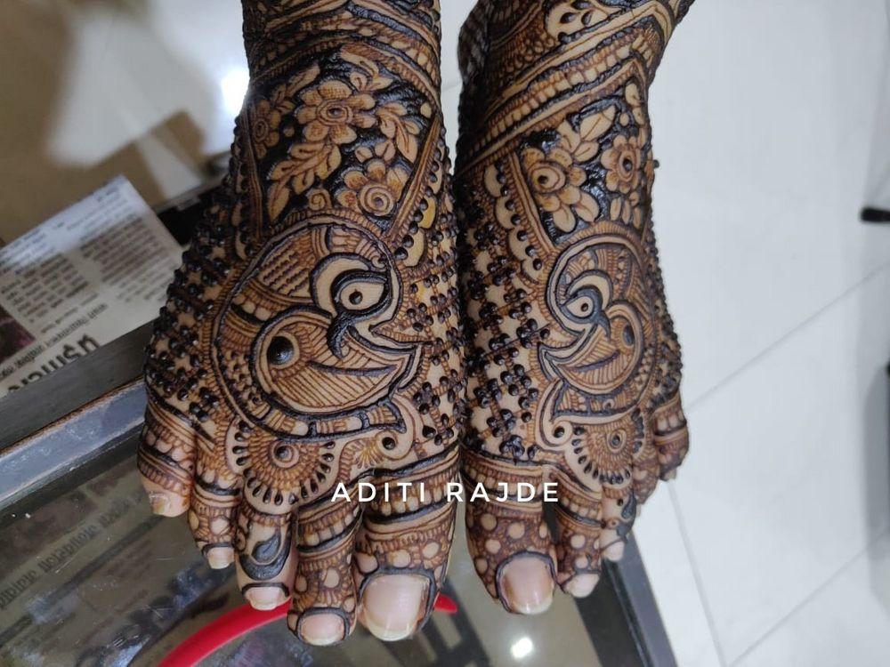 Photo From Marathi Mulgi - By Aditis Mehendi Art