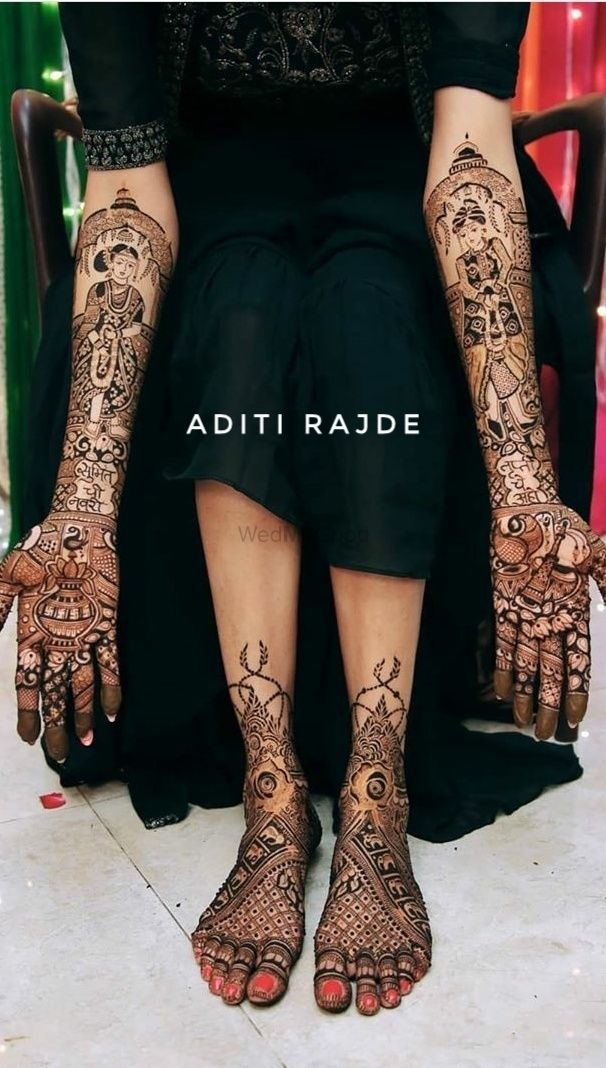 Photo From Navri-trupti surya - By Aditis Mehendi Art