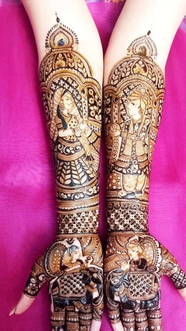 Photo From kinjal chadva - By Aditis Mehendi Art