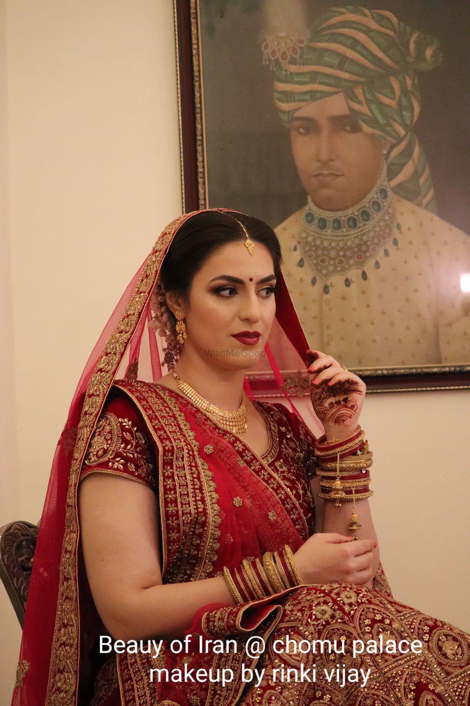 Photo From Mahsa from iran(chomu palace) - By Makeup by Rinki Vijay