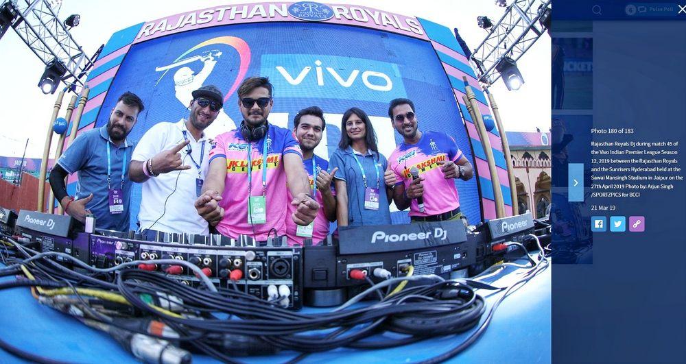 Photo From IPL For Rajasthan Royals - By DJ Ravish