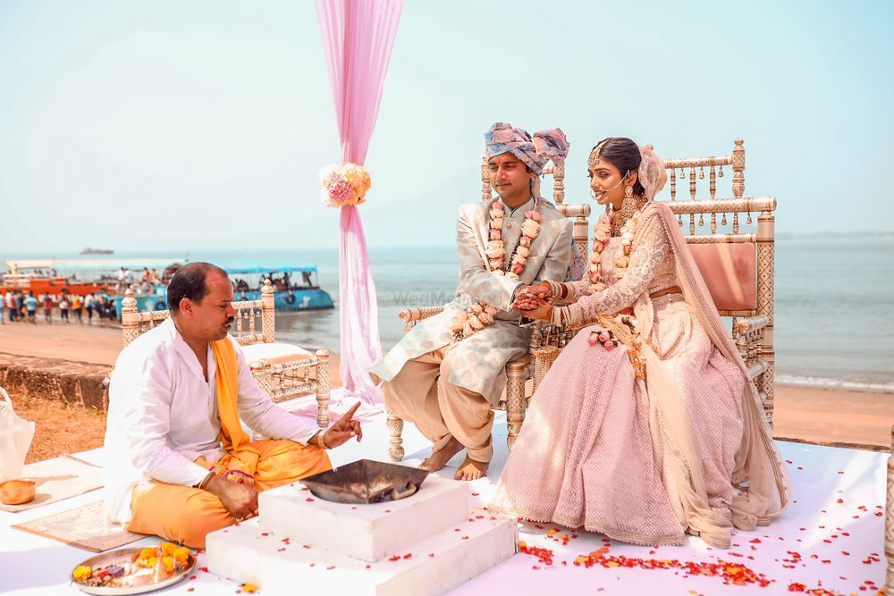 Photo From The Goa Wedding  - By Lenseyezia Productions