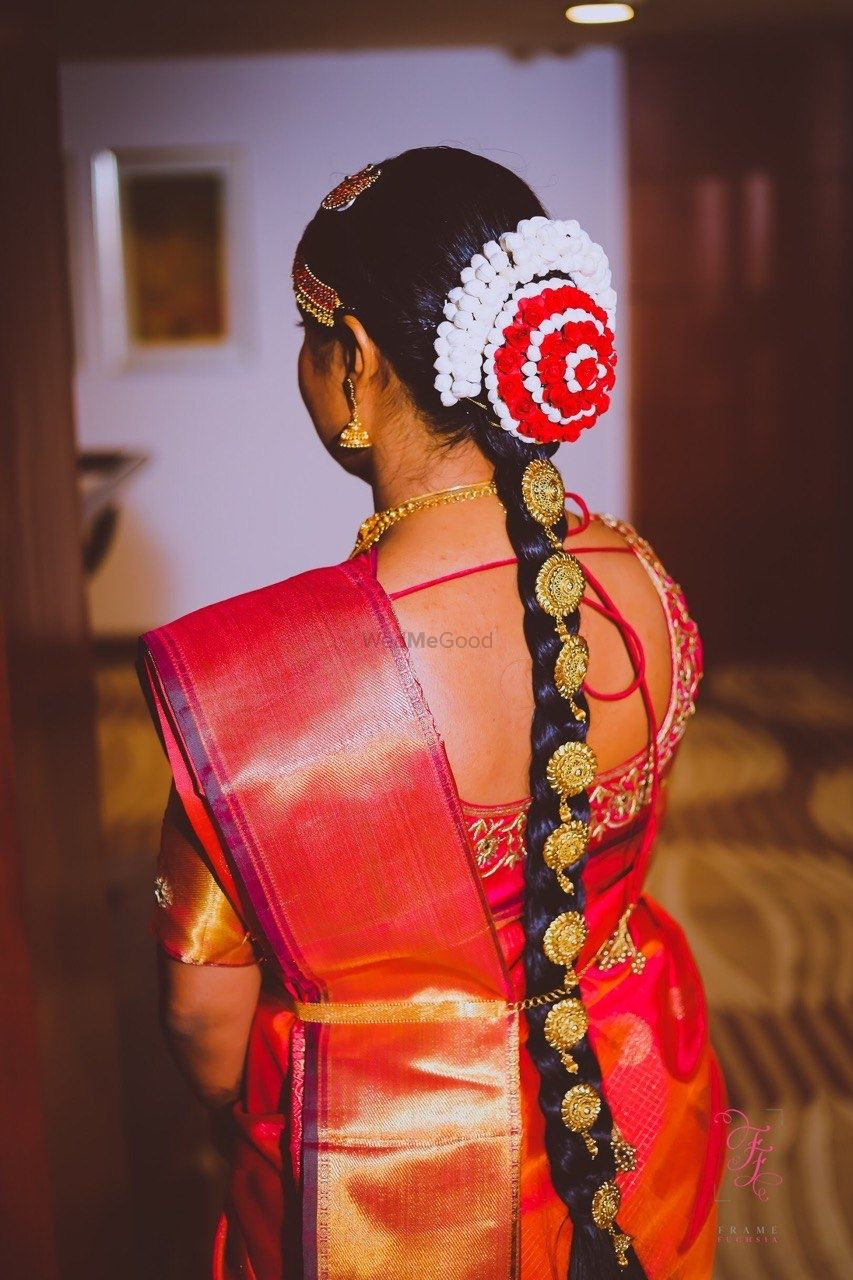 Photo From South Indian NRI Bride Anusha  - By Roopali Talwar Makeup Artist