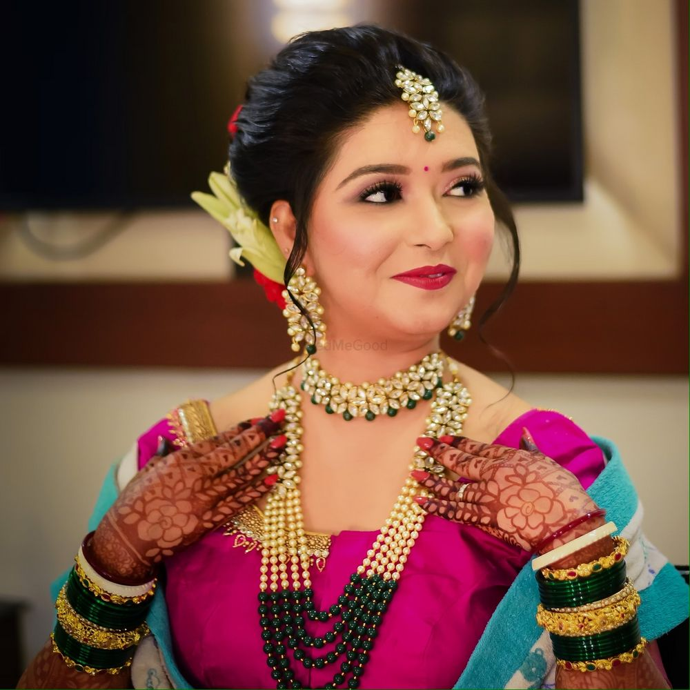 Photo From Shraddha - By Aakriti Gandhi Makeup Artist