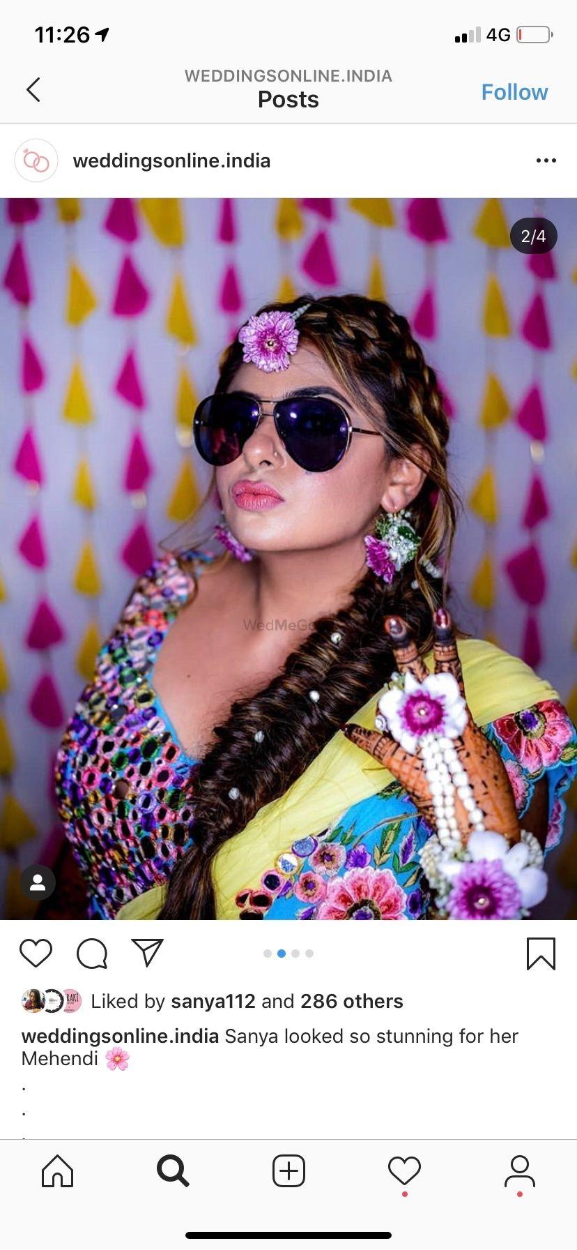 Photo From Bride Sanya Arora  - By Aksha Shah Mehendi Designer