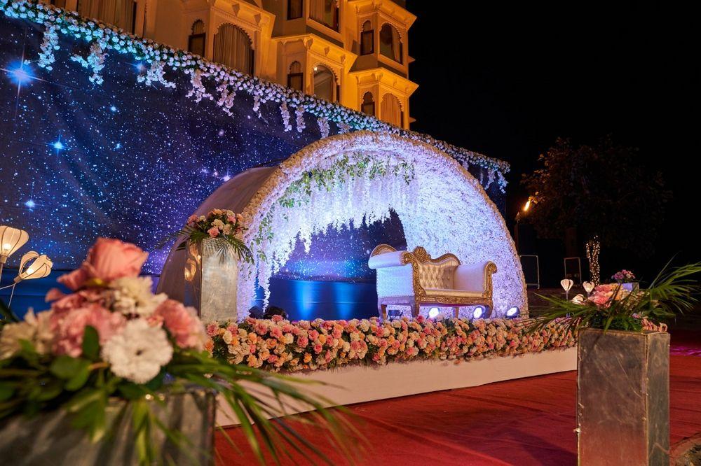Photo From Ayushi Weds Mukul - By Bhairav Garh Palace Udaipur