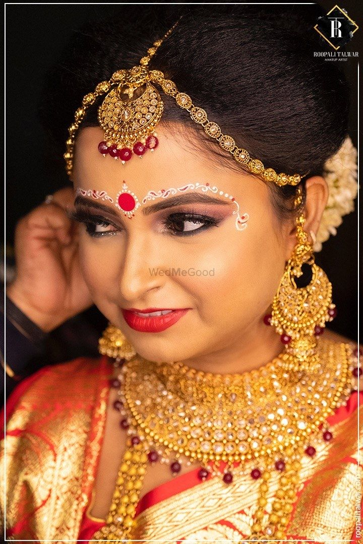 Photo From My Traditional Bong Bride - Chaitali  - By Roopali Talwar Makeup Artist