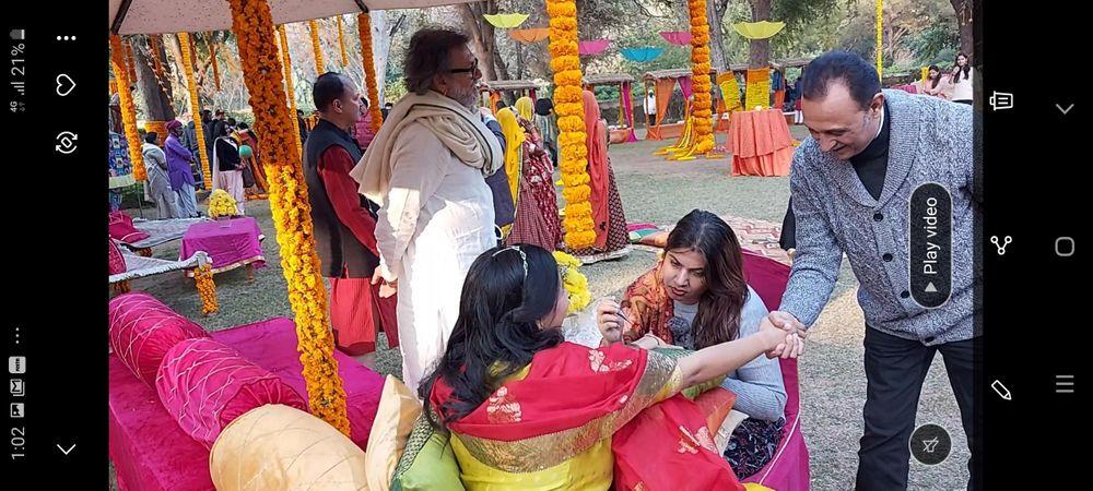 Photo From Bollywood celebrity Tisha omprakash mehra daughter of Rajan omprakash mehra and great meeting with bollywood writer and director Rakesh omprakash  mehra - By Shalini Mehendi Artist