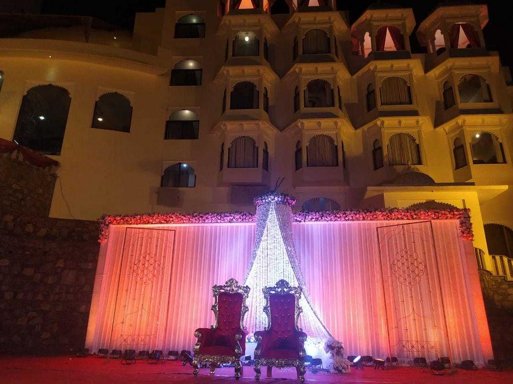 Photo From Divya & Harsh - By Bhairav Garh Palace Udaipur