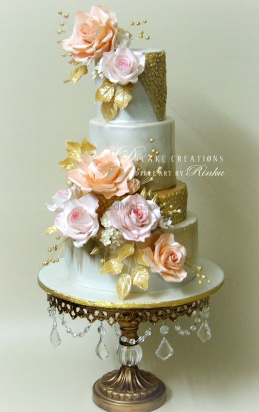 Photo From Premium Wedding Cakes - By D Cake Creations