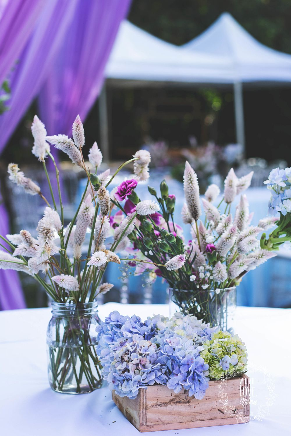 Photo From Blooming Flowers & Hues of Lavender - By With Love Nilma