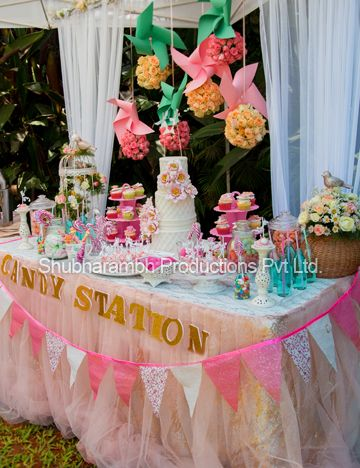 Photo of dessert table on your engagement