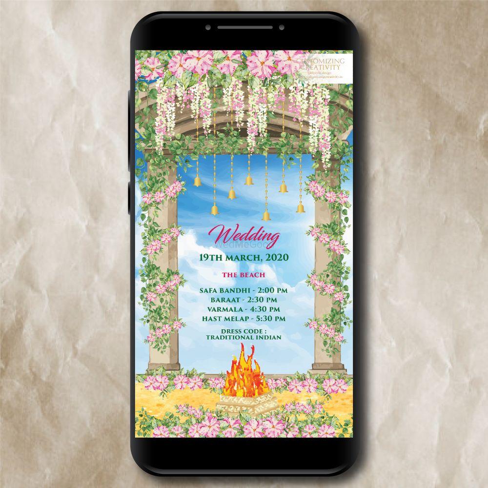 Photo From Digital E-Invitations - By Customizing Creativity