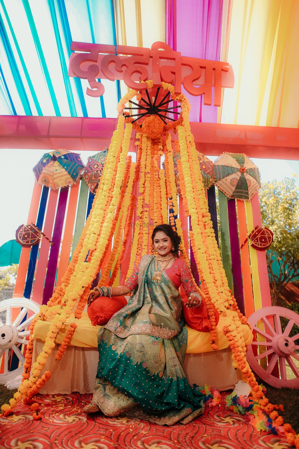 Photo From multi colour decor in Shanti function - By The Shadi Vibes