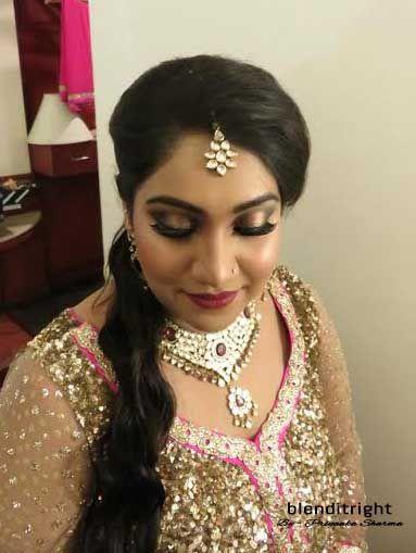 Photo From Kirti Engagement!! - By Blenditright - Makeup by Priyanka Sharma