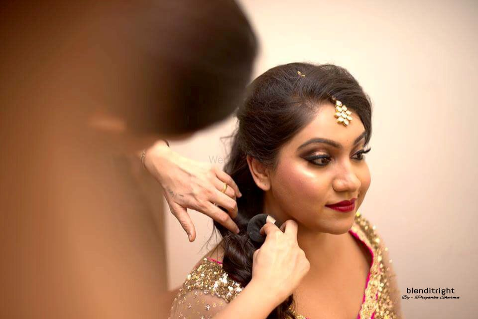 Photo From Kirti Engagement!! - By Blenditright - Makeup by Priyanka Sharma