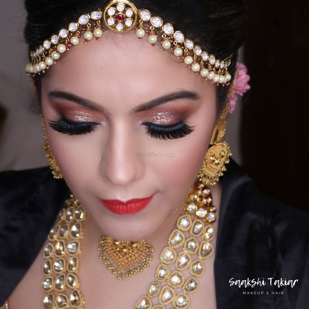 Photo From Elegant Bride Pavni - By Makeup by Saakshi Takiar