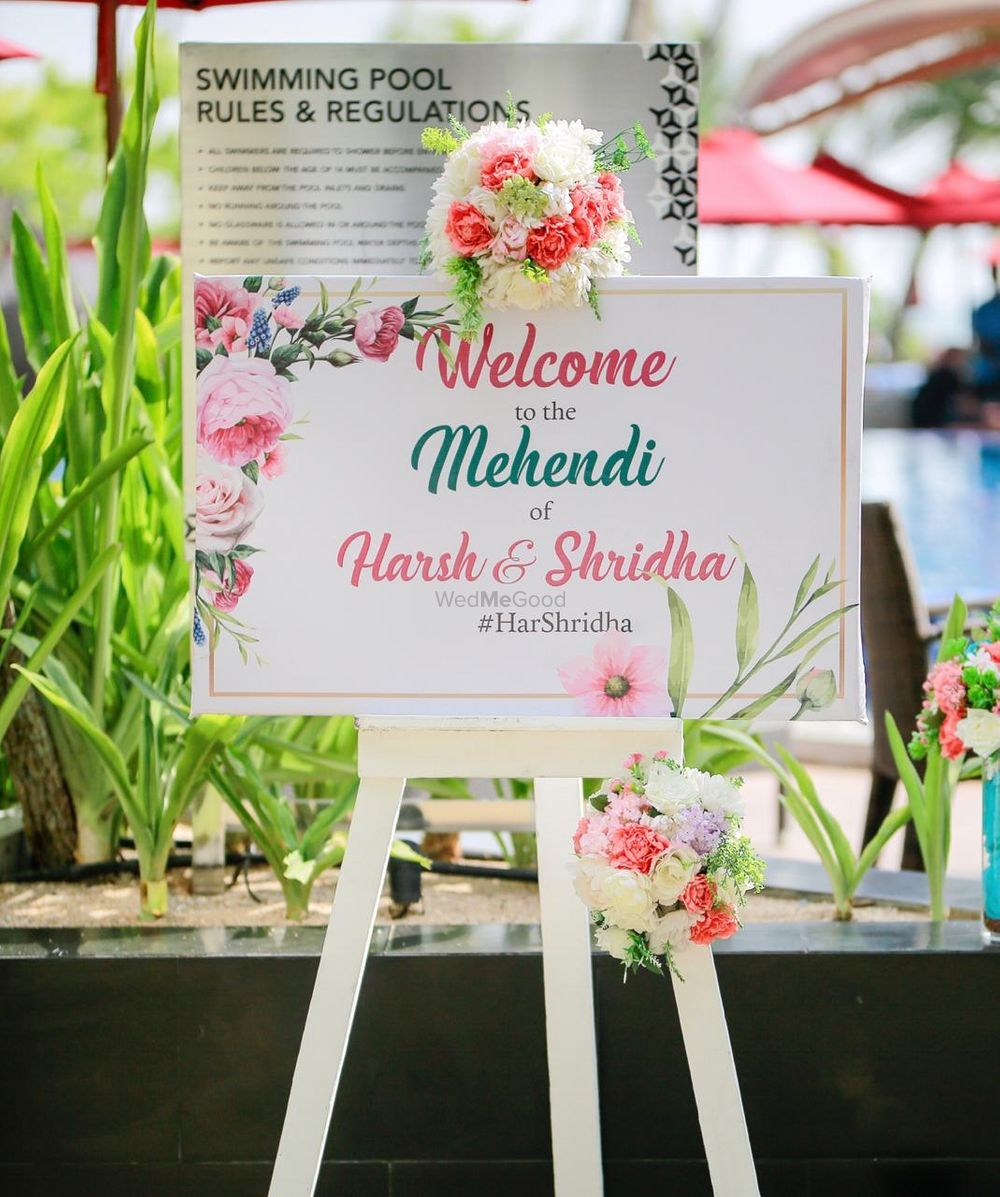Photo From Harsh & Shridha - Mehandi - By Shanqh Luxury Event Planners and Decorators