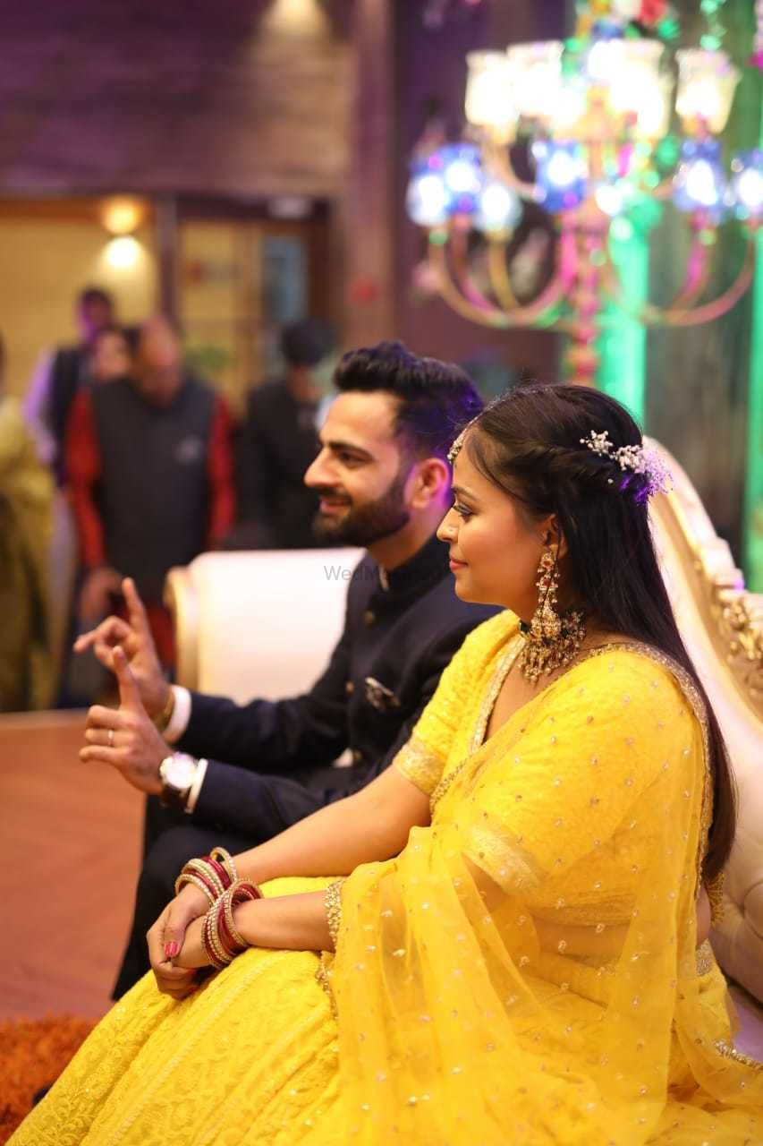 Photo From Engagement/sangeet Brides - By Neha Chaudhary MUA
