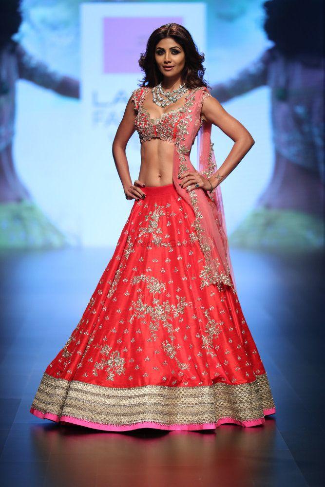 Photo of Lightweight bridal lehenga Anushree Reddy
