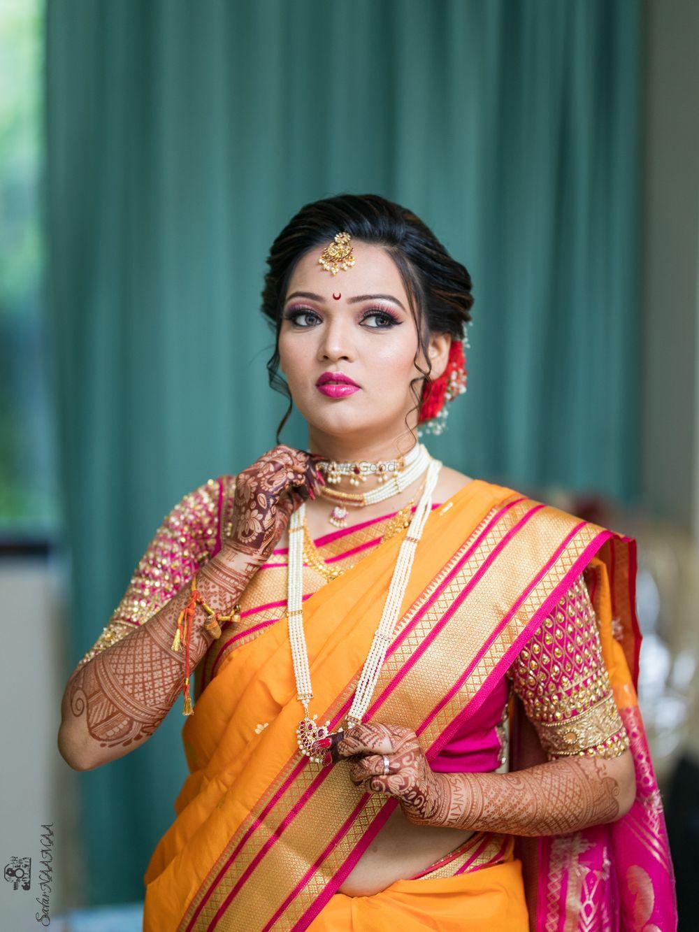 Photo From Ankita's wedding - By Jayshree Makeup and Hair Designer