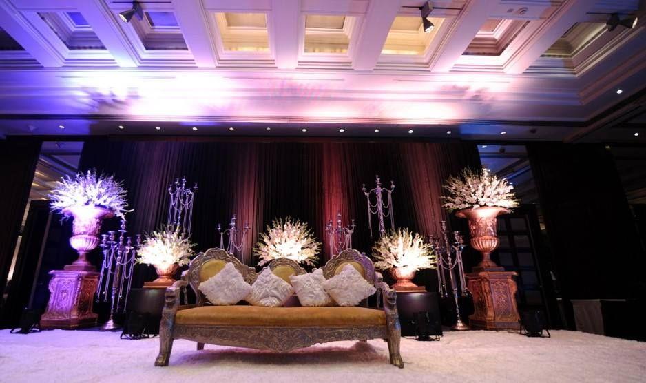 Photo of stage decor