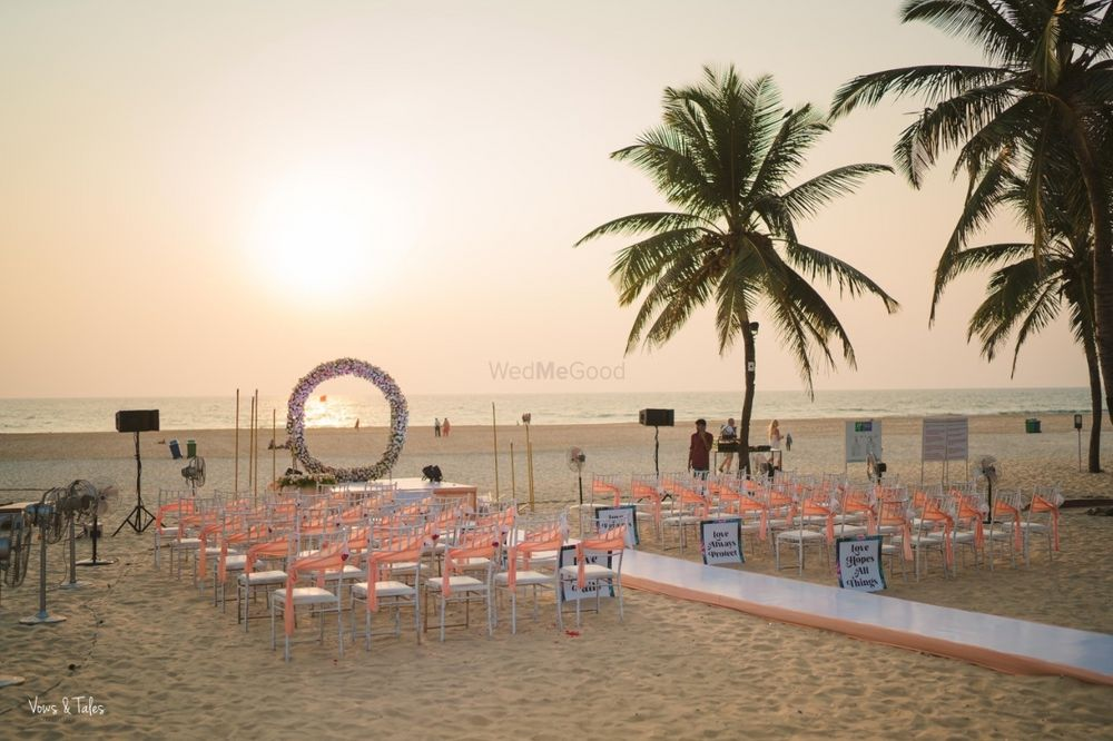 Photo From Beach Wedding vows ( Japji Weds Simar )  - By AH Production & Entertainment