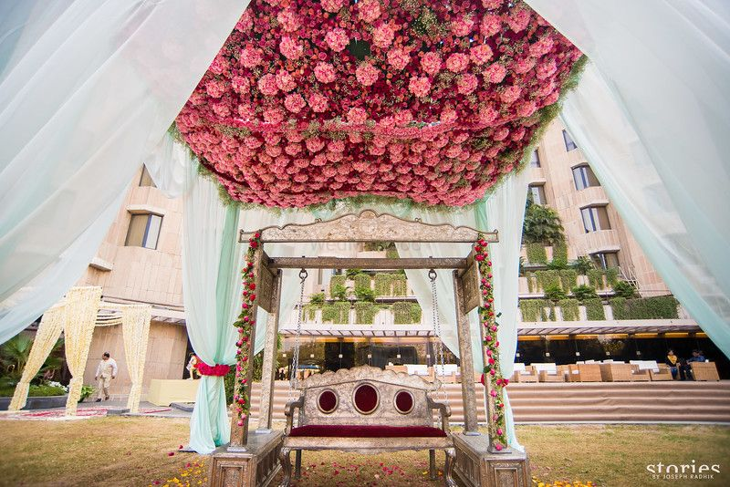 Photo of bridal jhoola