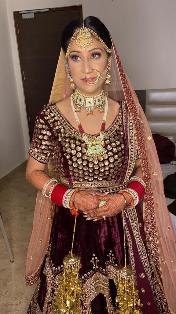Photo From Ritu' s Wedding  - By Makeup by Eva Gill