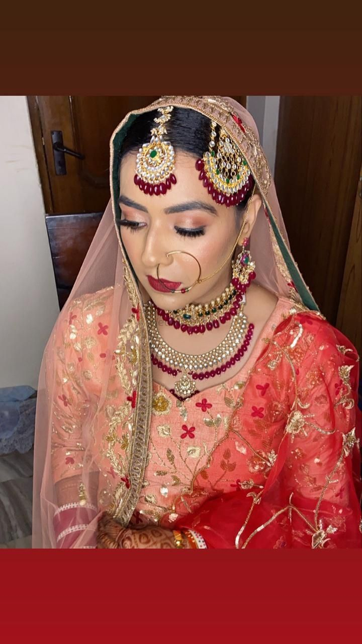 Photo From My designer bride Pearlpreet  - By Makeup by Eva Gill